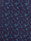 Bird Print Stretch Cotton Qipao