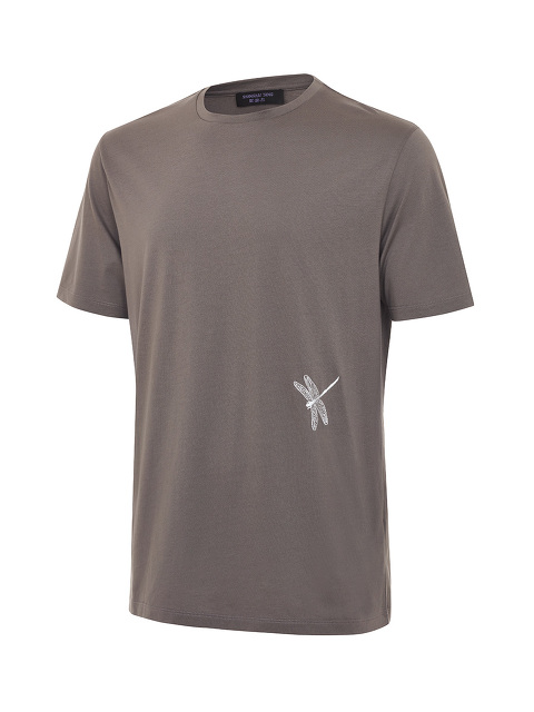 Dragonfly Embroidery T-shirt