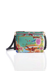 Chinese Landscape Print Nylon 2-way Clutch – Birds and Flowers