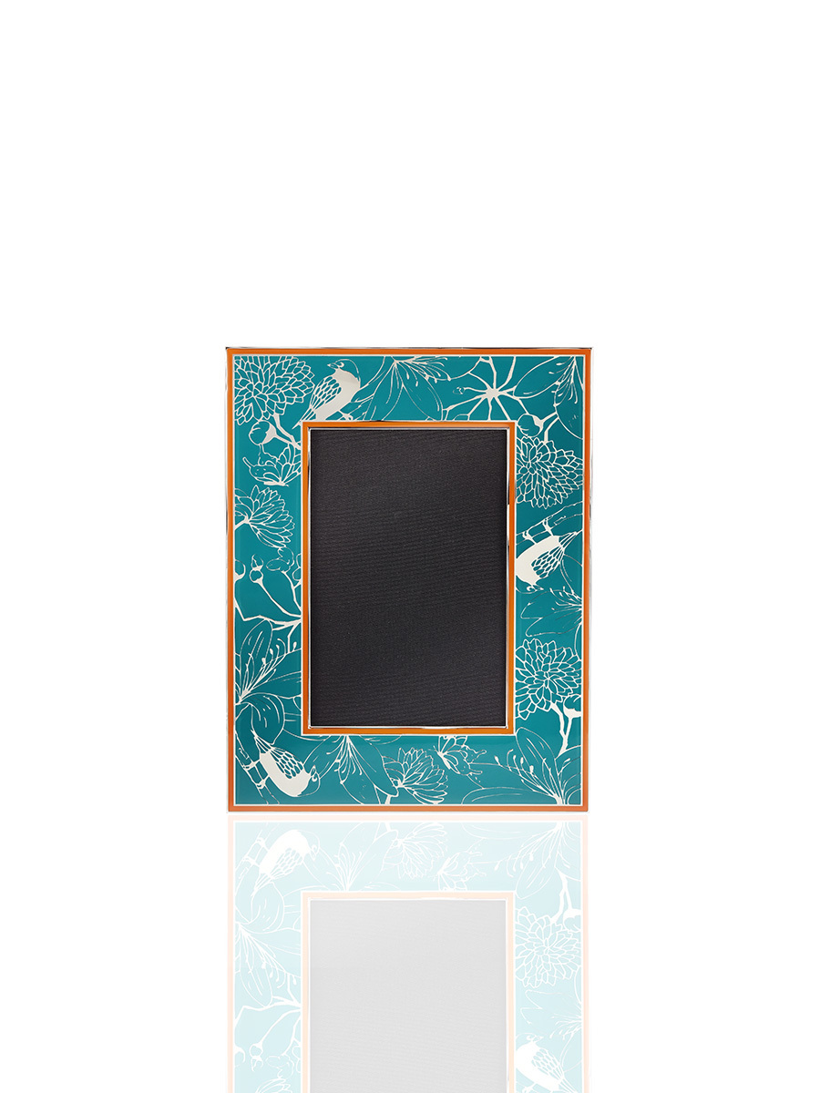 4R Bird Enamel Photo Frame