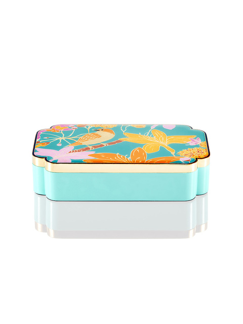 Bird Rectangular Enamel Box
