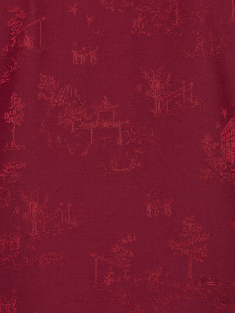 Chinoiserie Jacquard Tang Shirt Jacket