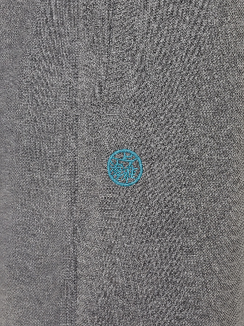 Cotton Piqué Jogging Pants
