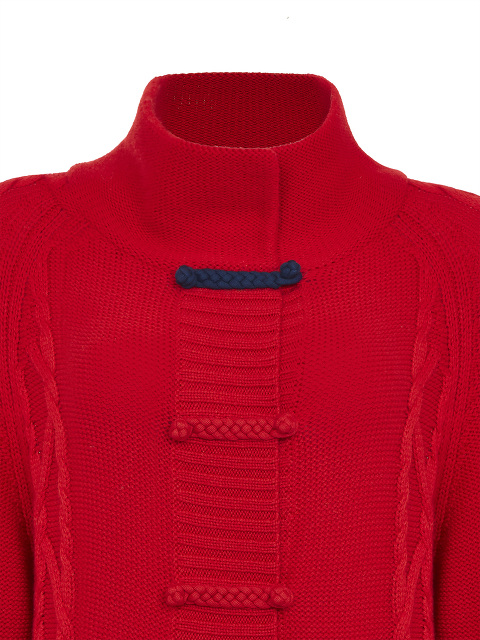 Braided Button Cable Knit Long Wool Cardigan