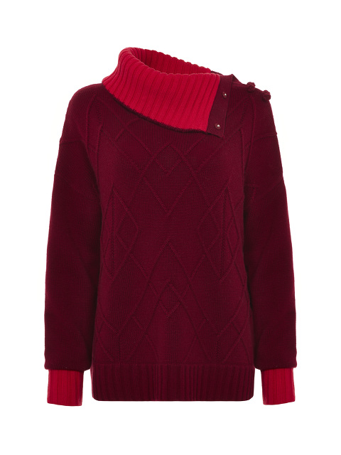 Chunky Rollneck Wool-Cashmere Sweater
