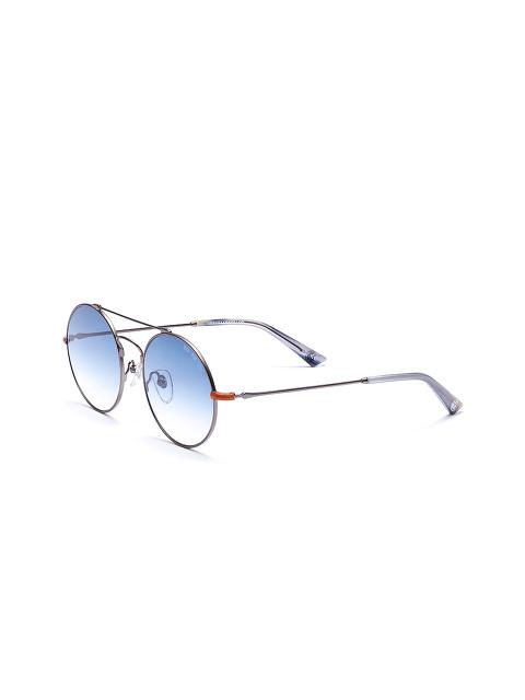 'The Poet' Wire Round Sunglasses