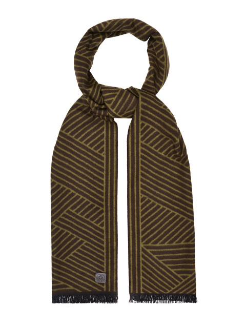 Mountain View Brushed Silk Scarf