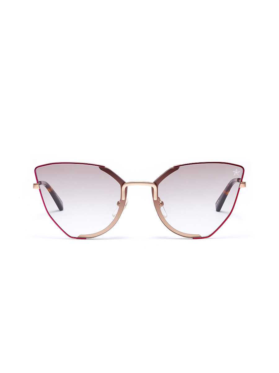 'Pollen' Lasered Rim Butterfly Sunglasses