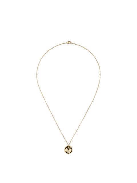 SHT Motif Enamel Pendant Necklace