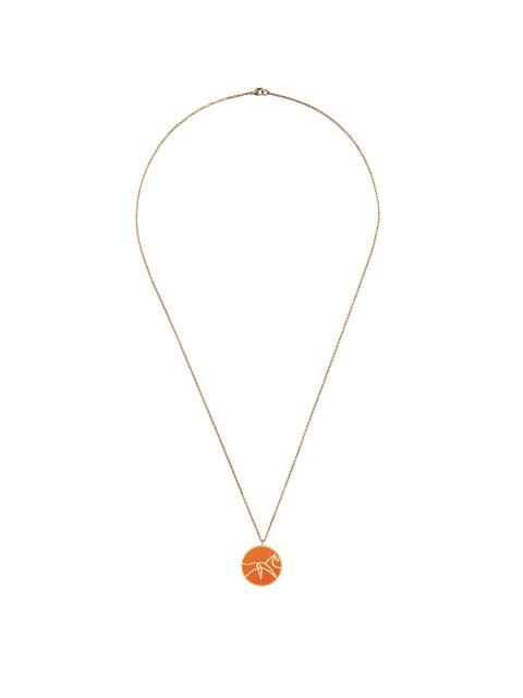 Zodiac Enamel Pendant Necklace – Horse