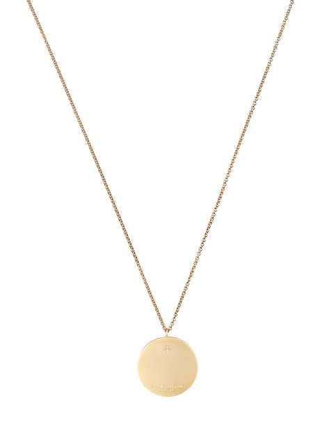 Zodiac Enamel Pendant Necklace – Ram