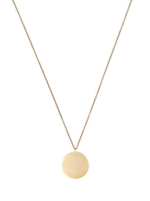 Zodiac Enamel Pendant Necklace – Pig