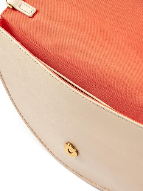 Half Moon Leather Pochette