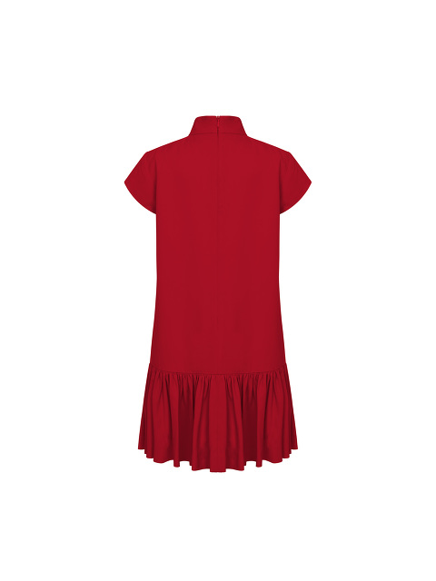 Kids Ruffled Hem A-line Dress