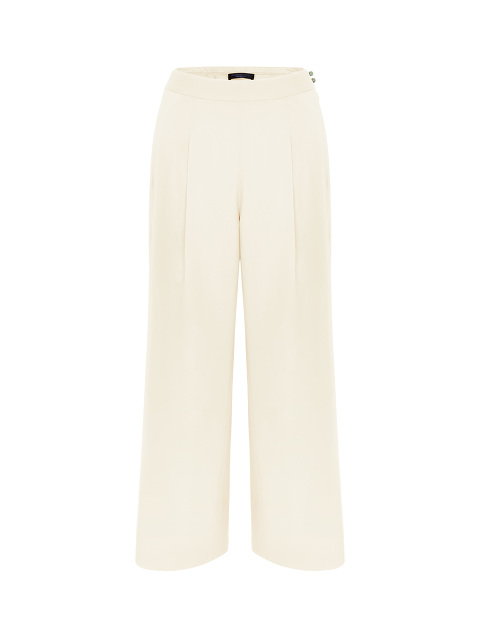 Jewel Button Palazzo Pants