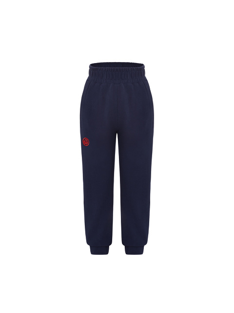 Kids Cotton Piqué Jogging Pants