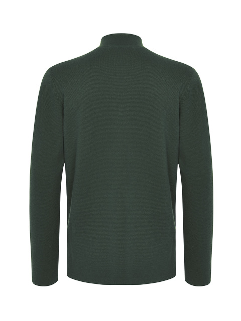Cashmere-silk Frog Button Cardigan