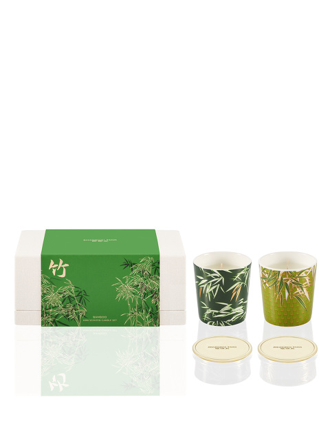 Bamboo Mini Scented Candle Set 55g x 2