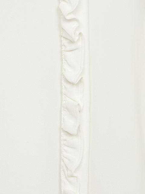 Jade Button Silk Blouse
