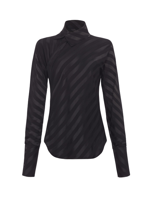 Yuni Ahn for Shanghai Tang Split Qipao Collar Blouse