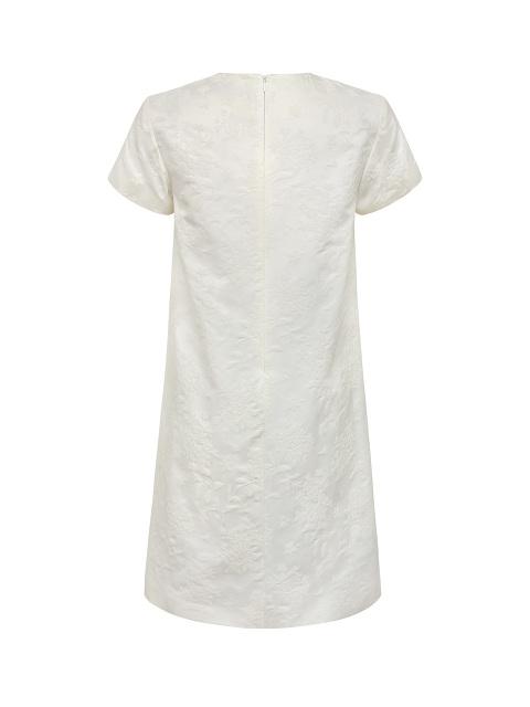 Azalea Jacquard and Peony Embellished Jacquard Dress