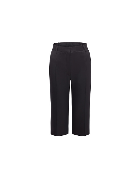 Yuni Ahn for Shanghai Tang Wool-Silk Longline Shorts