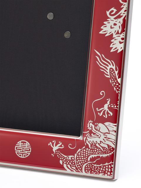 4R Dragon & Phoenix Enamel Photo Frame