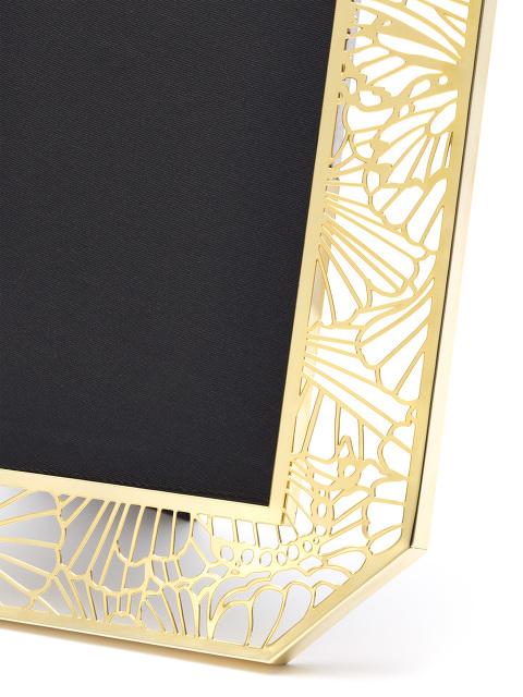 4R Gingko Gold Filigree Photo Frame