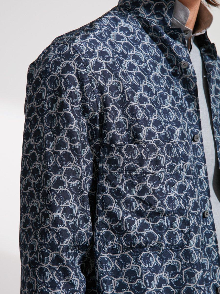 Silk Printed Shacket