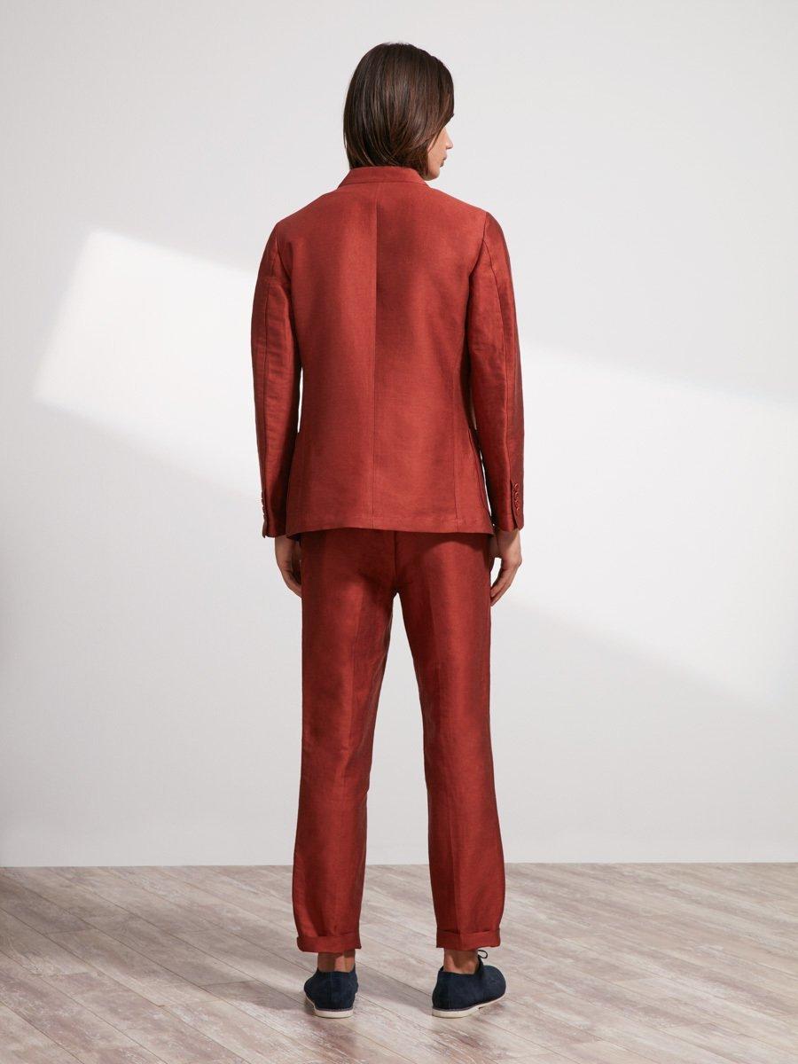 Linen-Polyamide Suit Pants