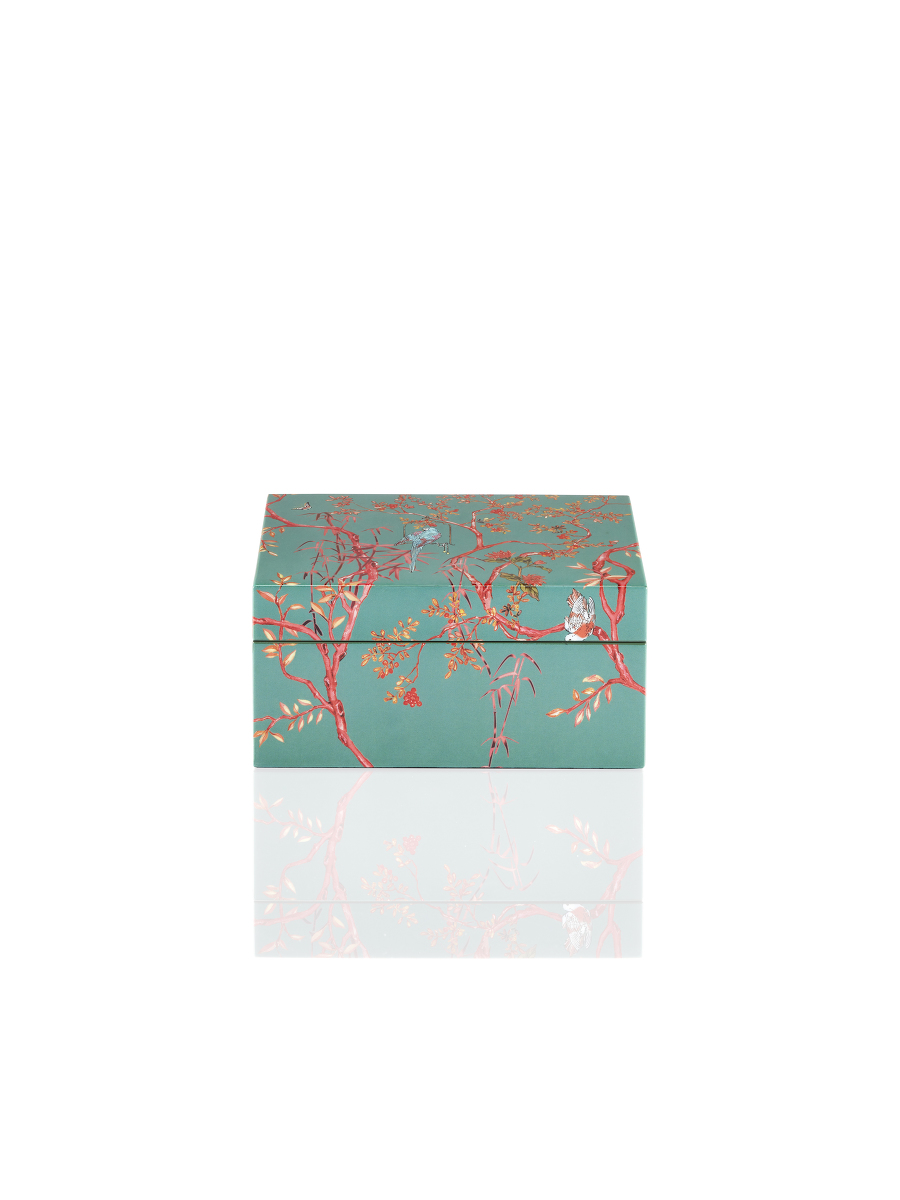 Forbidden Garden Lacquer Jewellery Box – Small