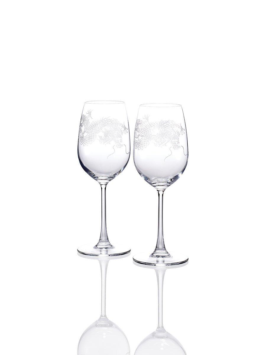 Dragon White Wine Glasses (Set of 2)