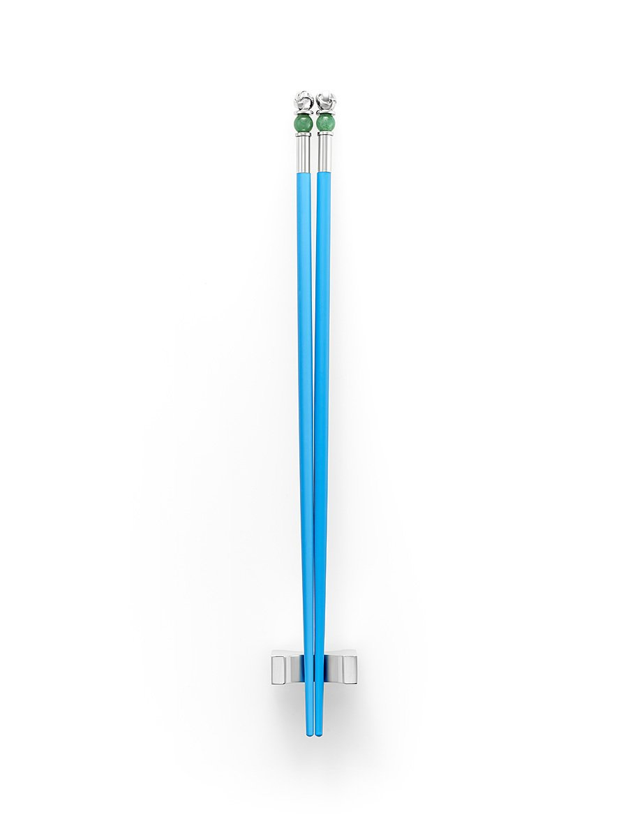 Jade Inspired Knot Chopsticks