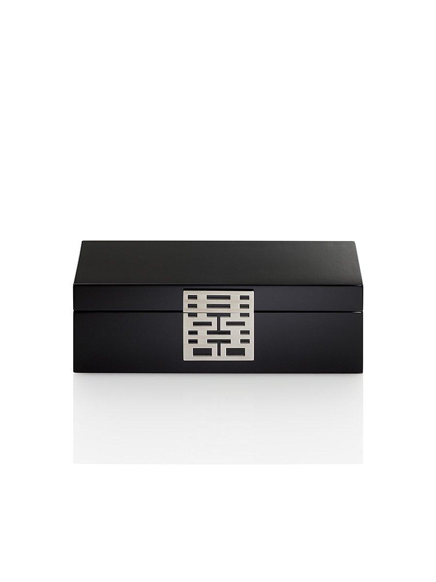 Double Happiness Lacquer Jewellery Box – Medium