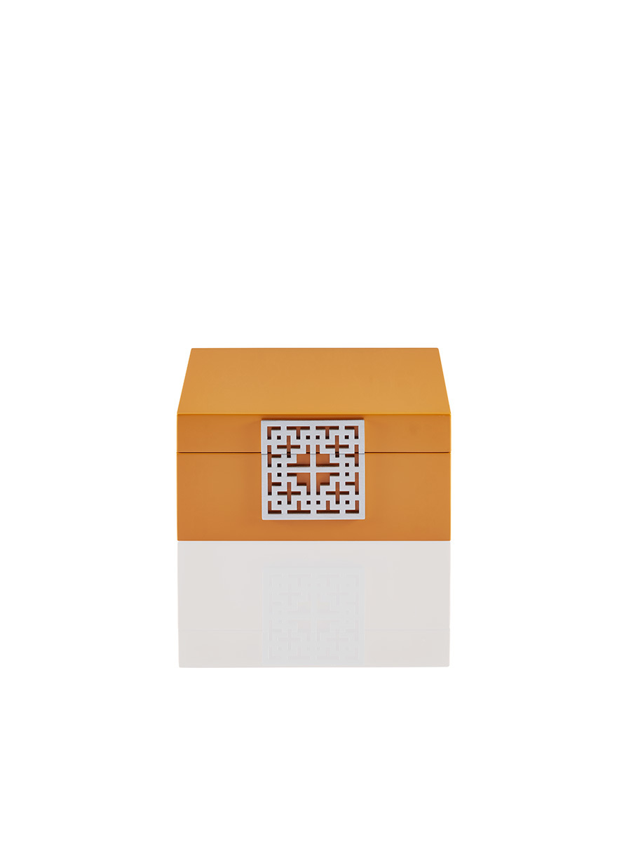 Lattice Lacquer Jewellery Box – Small