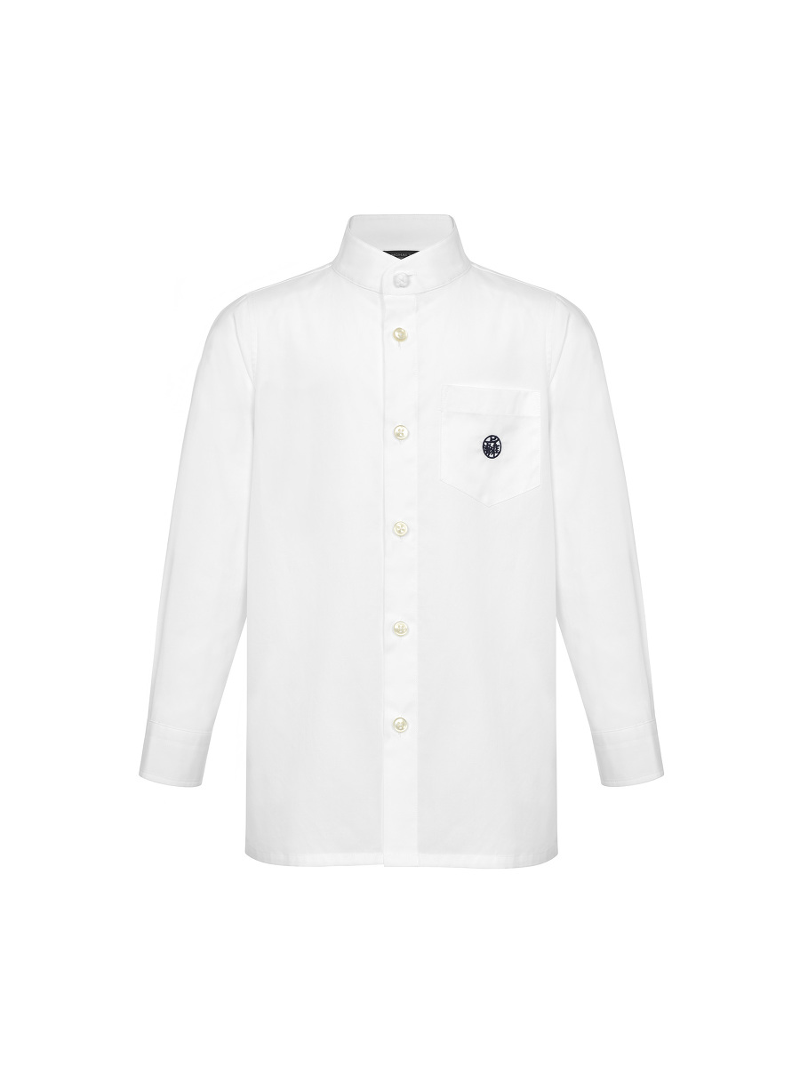 Motif Embroidery Kids Shirt