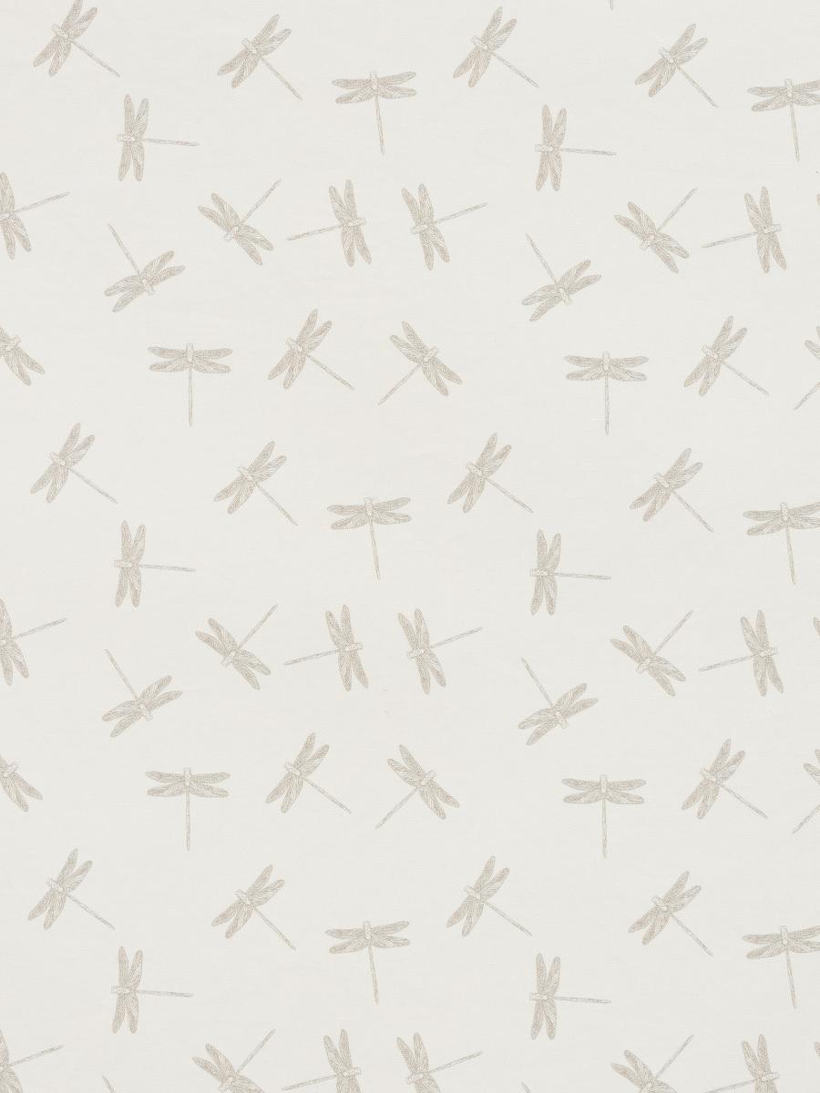 Dragonfly Print Short Sleeve Kids Shirt