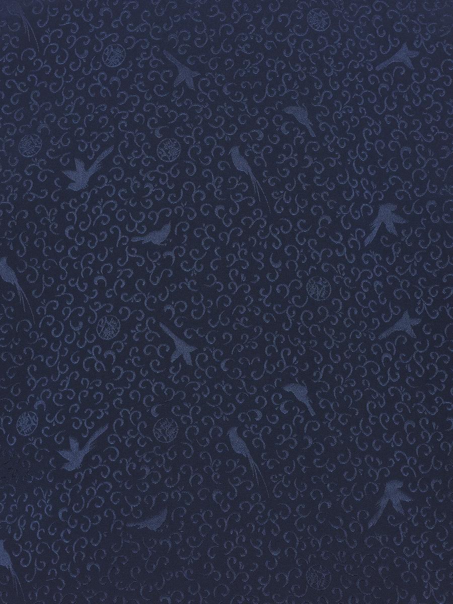 Kids Bird Jacquard Reversible Padded Silk Mein Lap