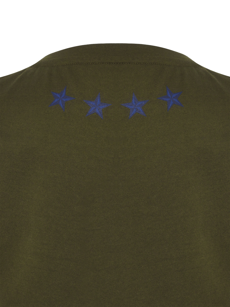 Star Embroidery Kids T-shirt