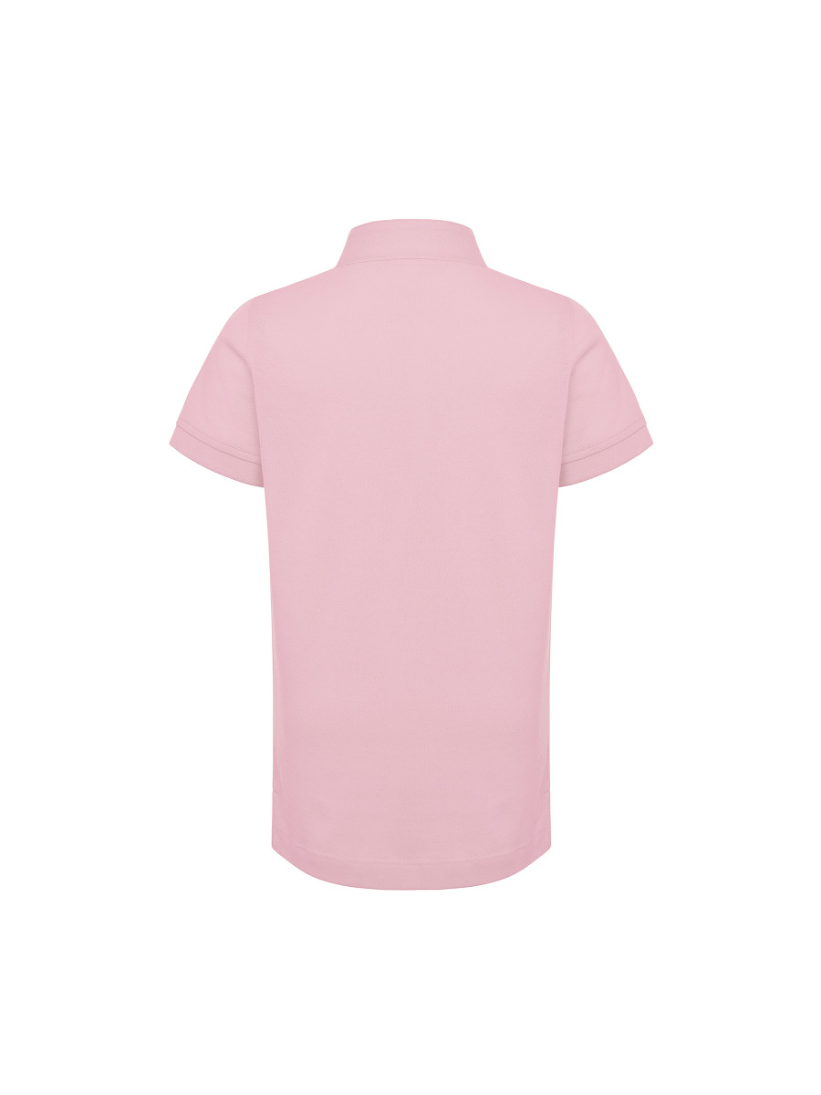 Tonal Bird Embroidery Kids Polo Shirt