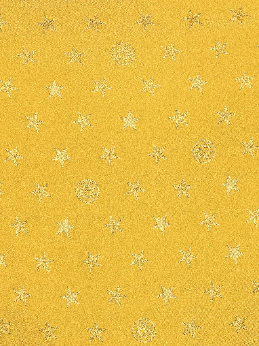Kids Wool Zip Cardigan with Star Jacquard Silk Lining