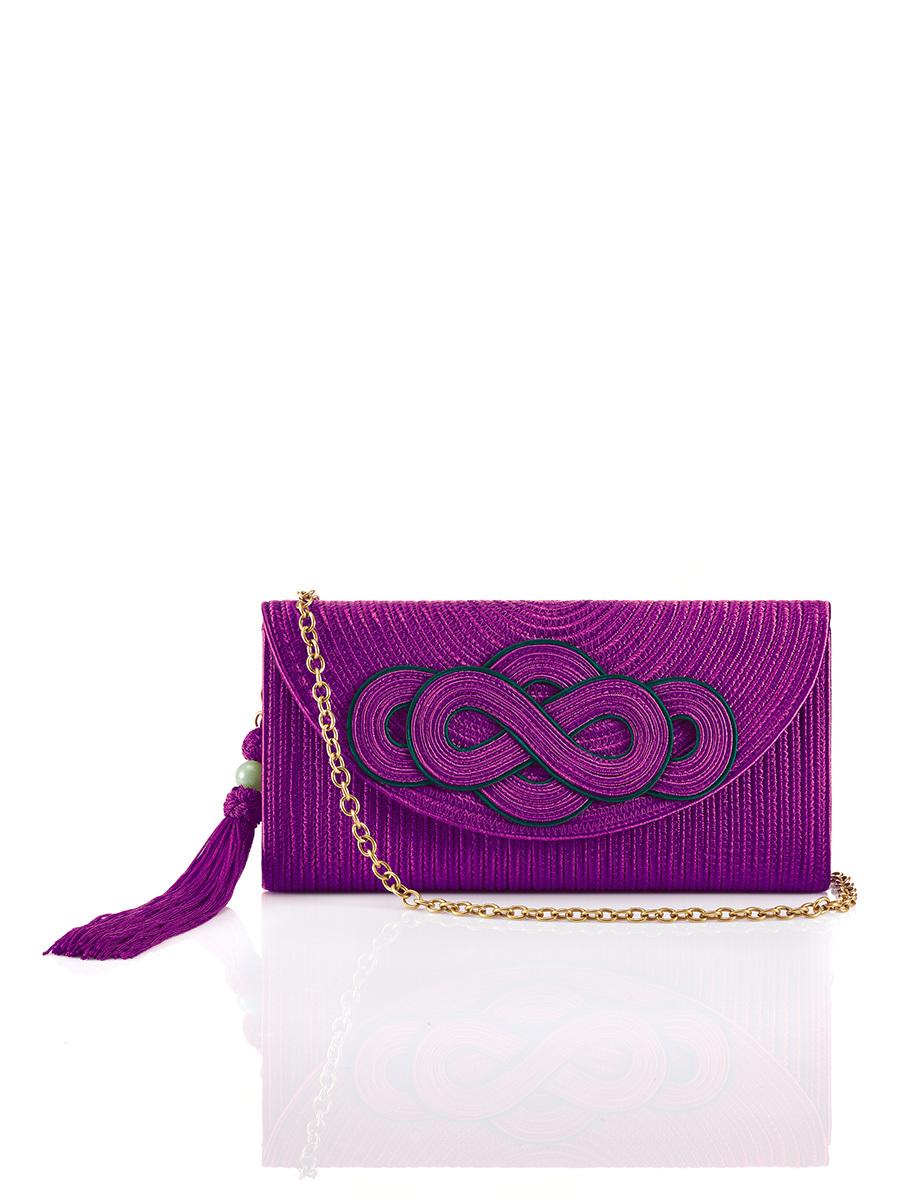 Braid Knot Clutch