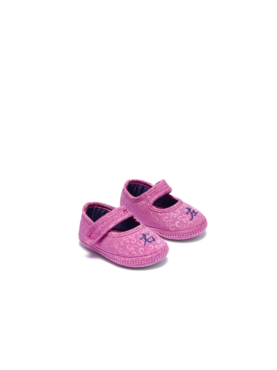 Left Right Embroidery Bird Jacquard Baby Shoes