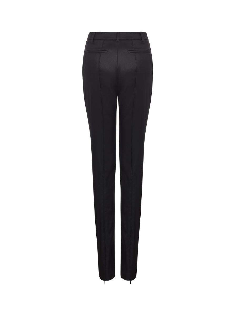 Yuni Ahn for Shanghai Tang Wool Zip Skinny Pants