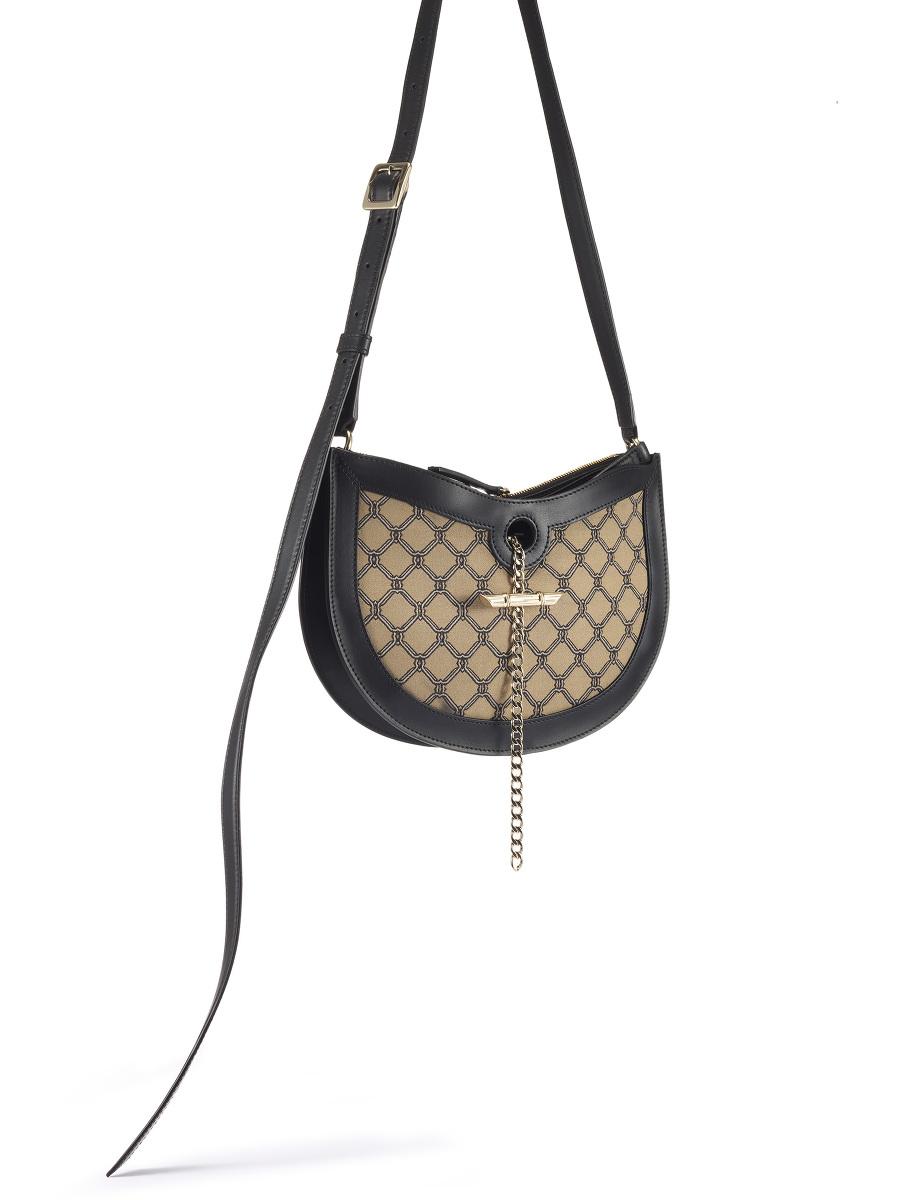 Yuni Ahn for Shanghai Tang Lattice Jacquard Mini Fortune Cookie Bag