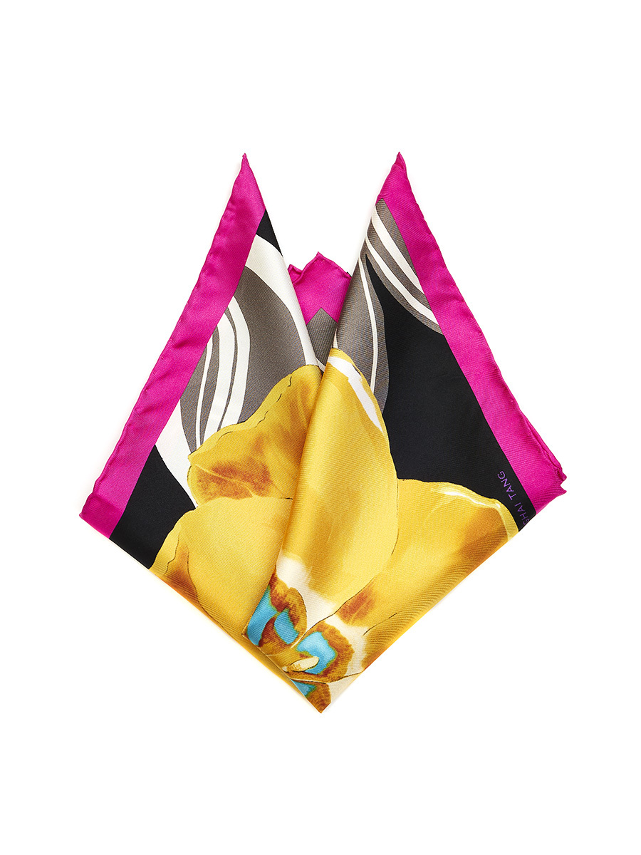 Tulip Pocket Square