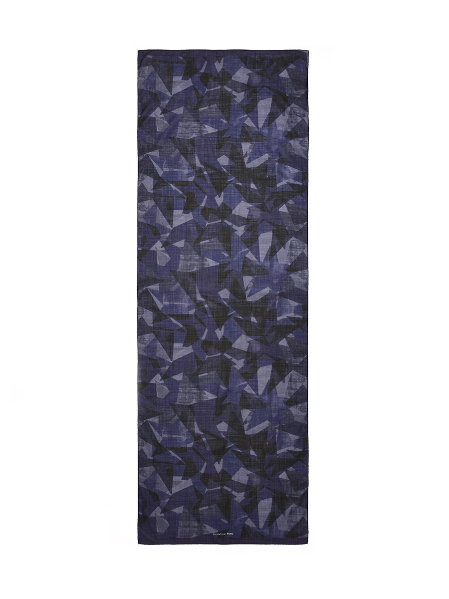 Star Wool-silk Scarf