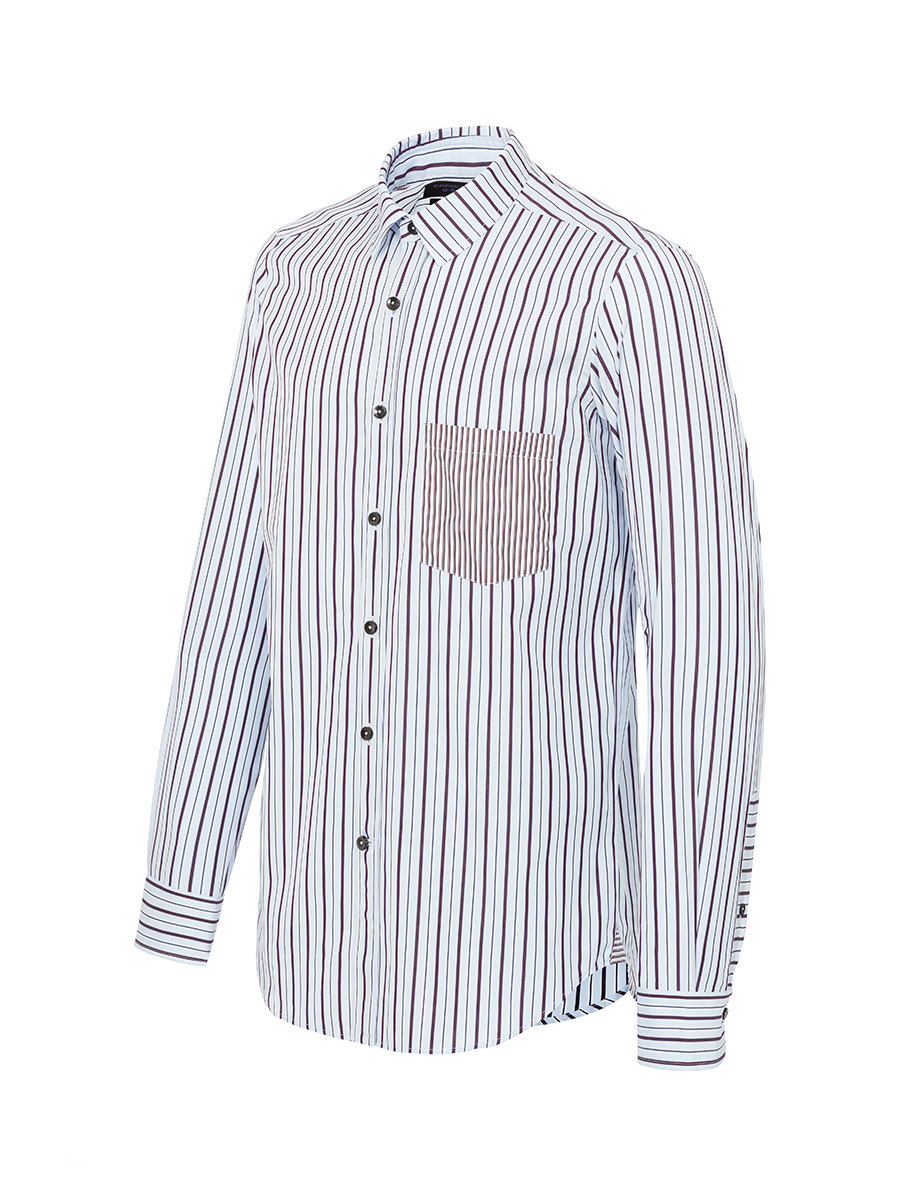 Patchwork Stripes Shirt