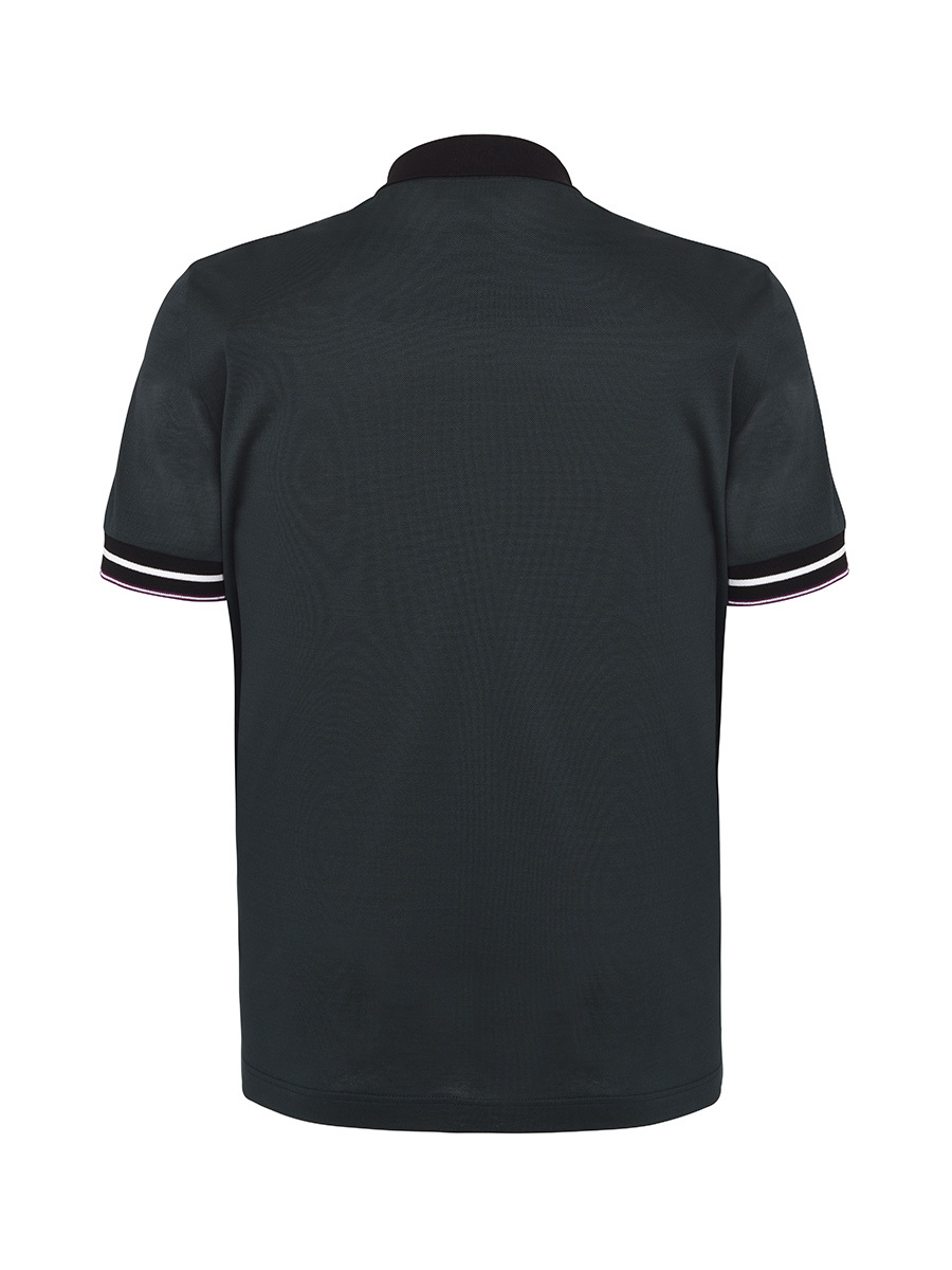 Polo With Transformable Collar