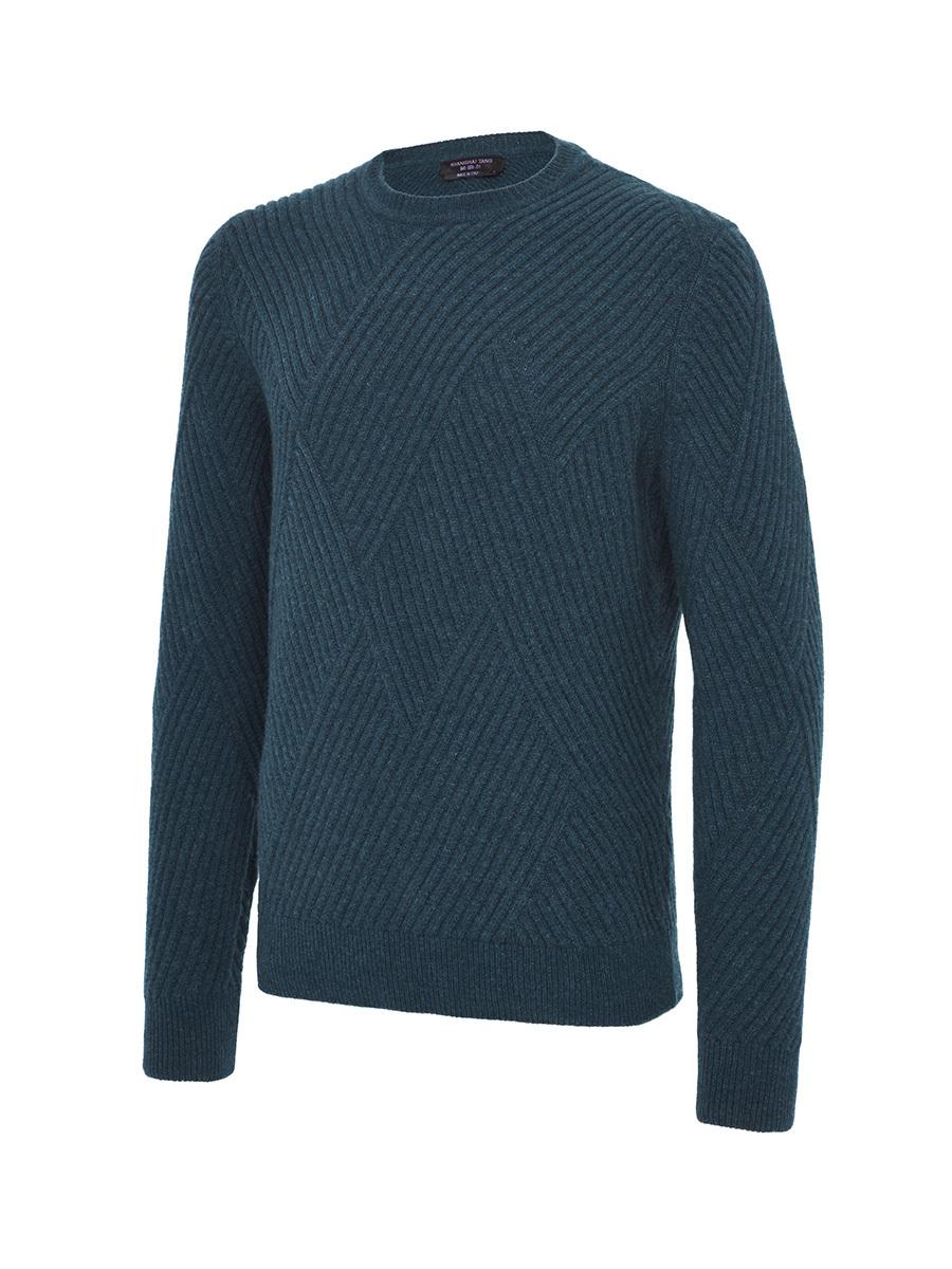 Engineered Rib Sweater